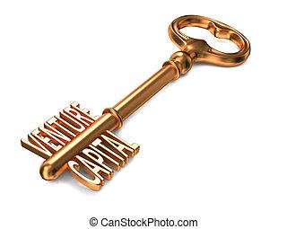 Venture Capital - Golden Key.