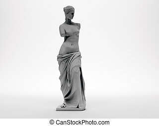 venus   - venus isolated on white background