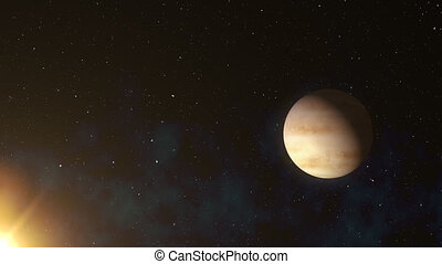 Venus Planet In Space