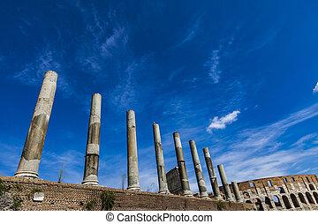 venus, rom, tempel, roma