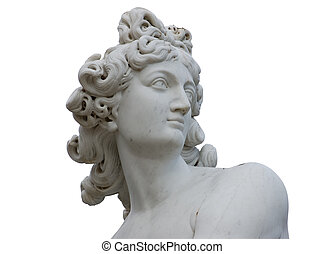 Venus Statue - Venus statue isolated over white