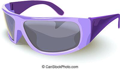 verão, óculos de sol