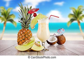 verão, bebida