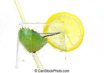 verão, bebidas, refrescar