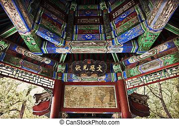 verão, beijing, palácio