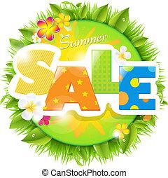 verão, desenho, venda, modelo