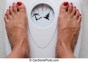 verão, dieta, antes de