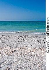 verão, férias praia