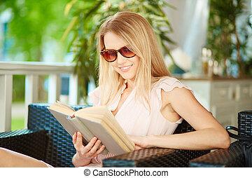 verão, leitura