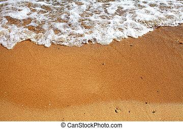 verão, praia, arenoso