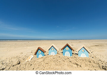 verão, praia