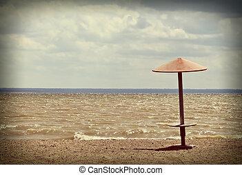 verão, praia, vazio