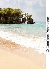verão, praia., viagem, luxo, fundo, paraisos , feriado, concept.
