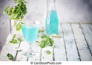 verão, refrescar, bebida