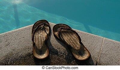 verão, sapatos