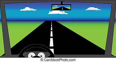 verão, windscreen