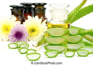 vera, ingredients., aloe, capelli, trattamento, facciale