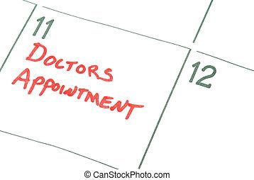 verabredung, doktoren