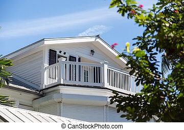 Veranda on White Wood House