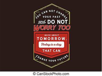 veranderen, jouw, groenteblik, vandaag, dag, toekomst