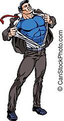 veranderen, superhero