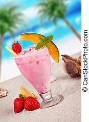 verano, bebida