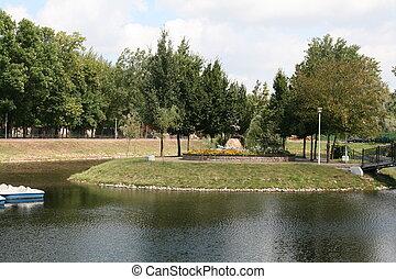 verano, en el parque