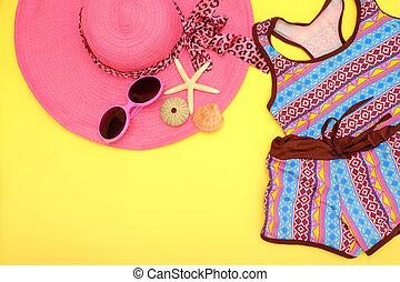 verano, fashion.