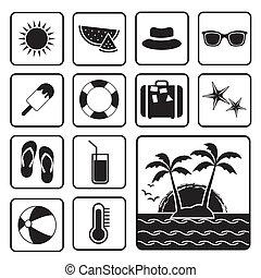 verano, icono
