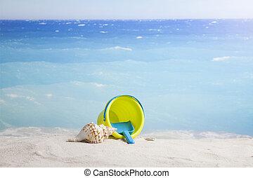 verano, plano de fondo