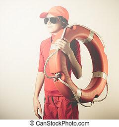 verano, playa, seguridad