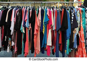 verano, ropas ocasionales
