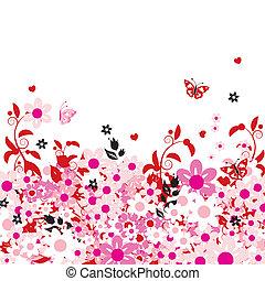 verano, sueños, tarjeta de felicitación, con, lugar, para, su, texto