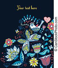 verano, texto, plano de fondo, diseño, su, plantilla, card., valentino, decoración, etiqueta, paquete, plantilla, impresión, ser, utilizado, ns, cup., tema, floral, día, empaquetado, saludo, lugar, lata
