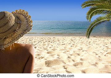 verano, y, vacaciones del verano, foto