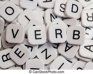 verb, 편지