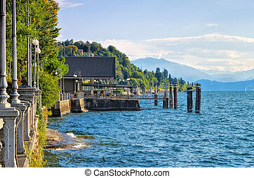 Verbania Intra in northern Italy - Verbania Intra old ...