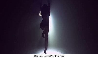verbazend, danser