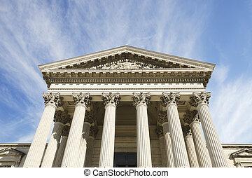 verbazend, hemel, gerechtshof