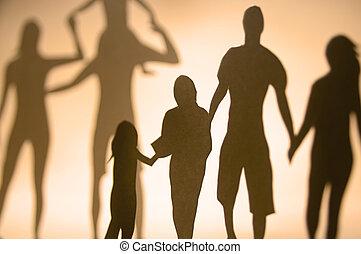 verbinding, gezin