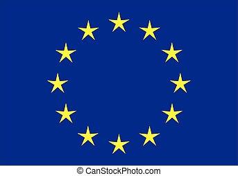 verbond vlag, (eu), europeaan