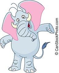 verbreiding, armen, elefant