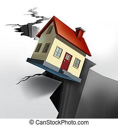 verdadero, caer, propiedad