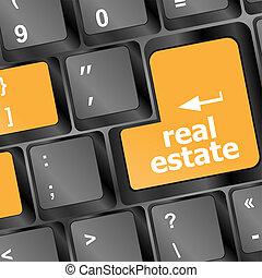 verdadero, concepto, propiedad, actuación, llave computadora, internet