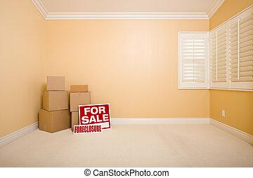 verdadero, ejecución hipoteca, propiedad, venta, cajas, ...