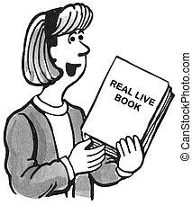 verdadero, libro