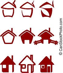 verdadero, símbolos, propiedad