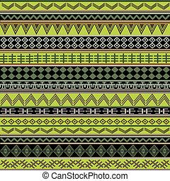 verde, étnico, africano, textura