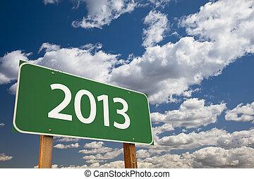 verde, 2013, segno strada