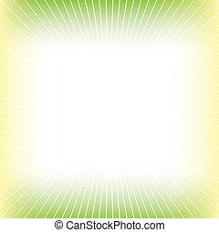 verde amarelo, abstratos, fundo